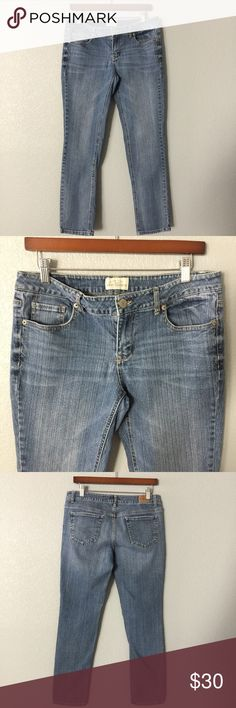 🌎♻️💧SALE🌎♻️💧skinny short Jeans Aeropostale skinny short Jean, with its great fit is your go to Jean this fall, it's perfect with your knee high boots. 👍🏼 99% cotton 1% Spandex for all day comfort wear. Buy this Jean and save $ and 💧👌🏼 ✅ will bundle 👌🏼✅🚭 ✅ all reasonable offers will be considered 👍🏼 🚫No Trading 🙅🏻 Poshmark rules only‼️ 📝Measurements taken laying flat                             Ⓜrise 8 1/2  Ⓜwaist 16 Ⓜ️inseam 28 Aeropostale Jeans Skinny
