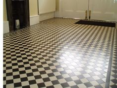 Victorian floor tiling. Wish our house suited these style of tiles.