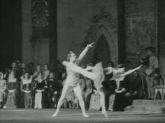 SWAN LAKE Act III (Maya Plisetskaya's debut at age 22, 1947)