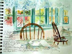 watercolor journals.
