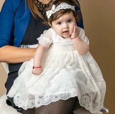 PURE LACE - ROCHIE LUNGA BOTEZ DIN DANTELA Girls Dresses, Flower Girl Dresses, Pure Products, Wedding Dresses, Lace, Fashion, Dresses Of Girls, Bride Dresses, Moda