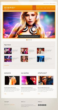 Reduce the time and costs of designing the site with our profesional themes! www.titantemplates.com