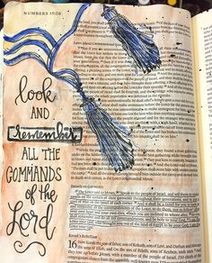 Numbers Bible art journaling by Bible Study Journal, Journal Pages, Art Journaling, Bible Verses Quotes, Bible Scriptures, Bible Art, Book Art, Bible Prayers, Illustrated Faith