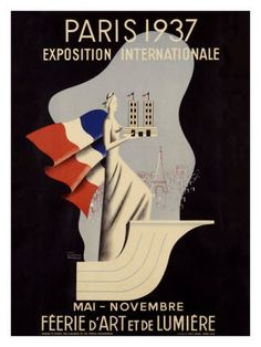 exposition poster, 1937