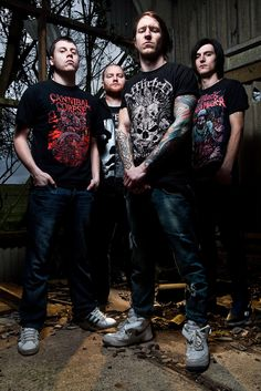 Music Photography - Band promo for death metal band Transcending The Flesh