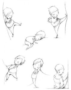 Serena Curmi...my illustration inspiration. I love the actions of this little boy.