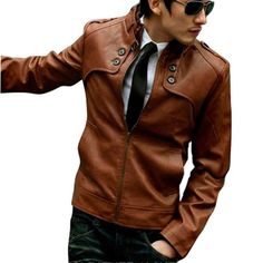 Vobaga Men's Classic Pu Leather Stand Collar Zipper-up Moto Jacket Warm Coat Brown 2Xl Vobaga http://www.amazon.com/dp/B00F936PXE/ref=cm_sw_r_pi_dp_3.9cub01W062X