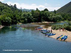 Descenso del Sella en canoa. [Más info] http://www.desdeasturias.com/descenso-del-sella-en-canoa/