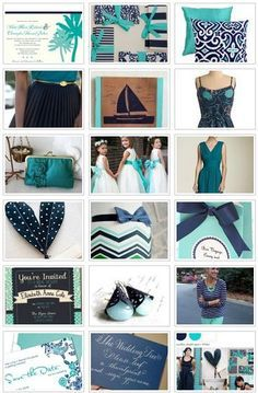 Aqua, Navy and Peach on Pinterest | Aqua, Navy and Elephant Baby