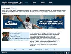 Vincent Bissonnette - Franchise work - windows cleaning company - Montréal - Québec