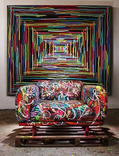 Graffiti art on your couch | Jetset Times