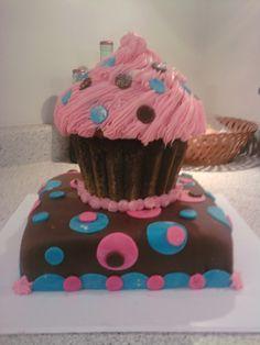 Grandma's Baby Girls first birthday cake