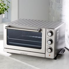 Cuisinart Convection Toaster Oven Broiler - Crate and Barrel Tostadas, Crate And Barrel, Cooking Utensils, Oven Cooking, Basic Cooking, Cooking Beets, Cooking Gadgets, Cooking Tools, Small Appliances