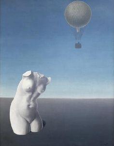 René Magritte ⎈ Quand l'heure sonnera (1932).