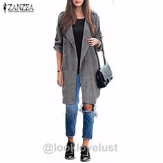 Thin Casual Lapel Cape Cardigan Coat -  - , www.looklovelust.com - 1,  https://www.looklovelust.com/products/thin-casual-lapel-cape-cardigan-coat
