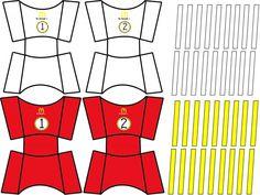 Fabulosas cajitas de papas fritas para trabajar el conteo en preescolar, primer y segundo grado de primaria | Material Educativo