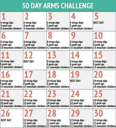 30 day arms challenge. Okay @jen A. Bauer ...I'm doing this!!