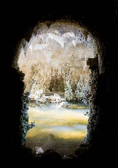 Crystal Grotto in Painshill Park, Surrey