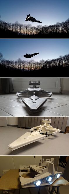 Man builds remote-controlled Star Wars Imperial Destroyer