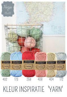 Kleurinspiratie Yarn / Scheepjes Catona