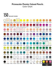 colored+pencil+chart | Prismacolor Premier Colored Pencils Color Chart - Alvin IT PDF Book ...