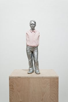 "Erwin Wurm [Austria] (b 1954) ~ ""Telekinetischer Masturbator"", 2009. Acrylic, cloth (47 x 12 x 10 cm).   #art #sculpture #figurative #conceptual_art #installation"