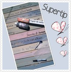 Ons thuis on pinterest tuin met and pallets for Transfer papier action
