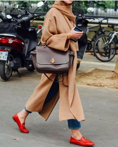 Camel & soft leather