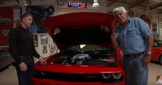Take a Drive With Jay Leno in the UNION-Built 707 Horsepower Dodge Hellcat