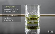 El #virgenextra no es como el vino, el whisky o el ron. Envejecer le perjudica