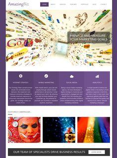 AmazingBiz: Free HTML5 Responsive Business/Portfolio Template