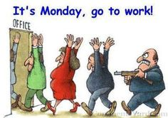 It's a new week, and a new week always starts on Monday!