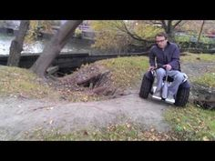 Segway Into An Electric Wheelchair