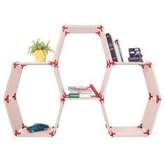 PlayWood, Stefano Guerrieri, modular furniture, furniture, DIY furniture, boards, connectors, chairs, chair, desks, desk, table, tables, shelves, shelf, bookcases, bookcase, eco-friendly furniture, sustainable furniture, recyclable materials, Bee Bookcase