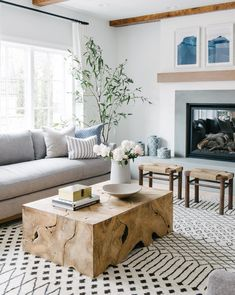 Tory Coffee Table – Teak - All About Balcony Boho Living Room, Living Room Modern, Living Room Designs, Living Room Decor, Small Living, Cozy Living, Coastal Living, Bohemian Living, Living Area