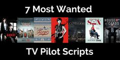 One of the best ways to learn how to write TV pilot scripts, is by reading pilot scripts. I gathered seven pilot scripts from some of the most talked-about drama Digital Film, Movie Scripts, How To Get Away, Film Industry, Screenwriting, Writing Tips, Movies To Watch, Filmmaking, Dramas