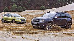 Suzuki SX4 vs Dacia Duster