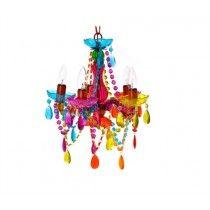 Lampara Candelabro Gypsy Colores