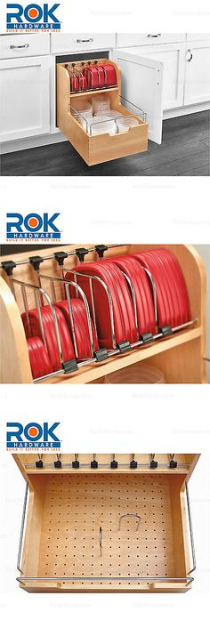 Other Kitchen Storage 11703: Rev_A_Shelf Kitchen Cabinet Food Storage  Container 18 Pull Out Organizer