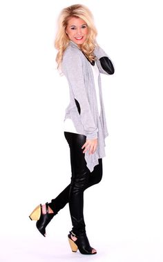 LOLA DIVINE CARDI HEATHER GREY $ 28.00 #shopimpressions OFFICIALLY ON MY WISHLIST