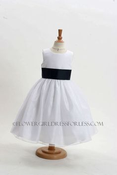 Flower Girl Dress Style 5378-BUILD YOUR OWN DRESS! Choice of 139 Sash and 51 Flower Options! $49.99