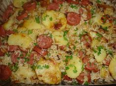 Arroz Com Batata, Fogo, Tempo, Bons Momentos, Rice Recipes, Cooking Recipes, Baked Rice, Rice Balls, Rice Cereal