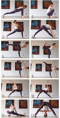 Yoga for Runners, Hips and Hamstrings Sequence. by dee