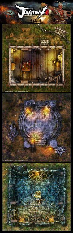 Journey, Wrath of Demons 01 by henning.deviantart.com on @DeviantArt