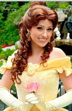 Belle : Disney princess : Disneyland