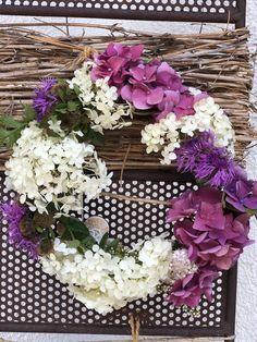 Schnell und einfach hergestellt. Ich liebe die kleinen Details. Floral Wreath, Wreaths, Home Decor, Love, Simple, Lawn And Garden, House, Floral Crown, Decoration Home