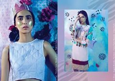 Editorial feat. Jewellery by Ciara Clark for Kit Magazine