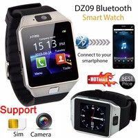 Wish | Bluetooth Smart Watch Phone & Camera Support SIM Card For Android/iOS Phone DZ09