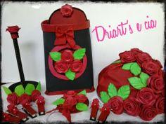Driart's e cia: Kit Cozinha Floral