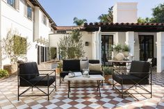 Nate Berkus Jeremiah Brent House for Sale Photos Nate Berkus, Jeremiah Brent, Spanish Colonial, Spanish Style, Dutch Colonial, Spanish Revival, Outdoor Rooms, Outdoor Living, Outdoor Decor